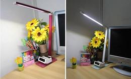 Lámpara de escritorio LED Regulable Luz de mesa Plegable Oficina portátil portátil Accesorio 7W Cuidado de los ojos Lectura del libro de estudio Luz desde fabricantes