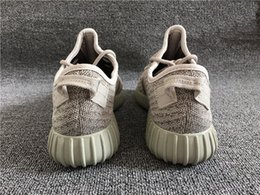 Wholesale Designer Boots Free Shipping - 2016 Fashion Designer boost 350 Moonrock Running Shoes Athletic Low cut kanye Shoes west With Box Sport Shoes Free Shipping