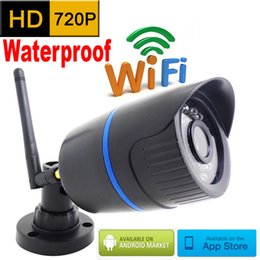 Wholesale Home Security Surveillance System - ip camera 720p HD wifi outdoor wateproof cctv security system surveillance mini wireless cam infrared P2P weatherproof mini home