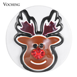 Canada VOCHENG NOOSA Gingembre Snap Charms Rennes Snap Button Bijoux interchangeables 18mm Vn-1853 supplier reindeer charms Offre