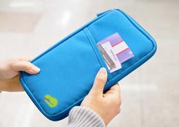 Корейский владелец паспорта онлайн-Корейский стиль паспорт бумажник Travelus полиэстер многофункциональный кредитной карты пакет ID держатель путешествия сумка для хранения