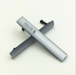 2019 mikrofonanschluss Neue USB-Ladeanschluss Staubstecker Abdeckung + Sim SD-Anschluss für Sony Xperia Z3 Mini Compact M55W