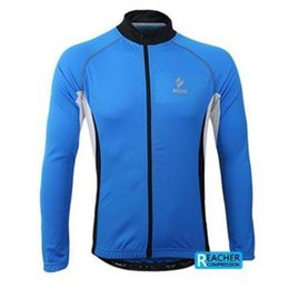 Wholesale Cycling Shirts Men - 2015 HOT IETMS Arsuxeo Spring summer men sports cycling bike bicycle running long sleeves jersey shirts wear top clothes 60028