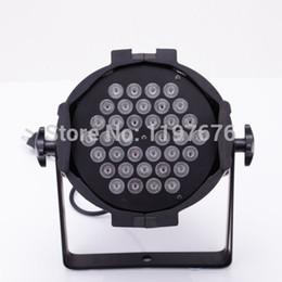 Wholesale Rgb Par 64 - Wholesale-4 PCS DJ PAR 36x3w LED LIGHTS RGB Stage Light PAR 64 108watt DMX STAGE PARTY SHOW, Fedex DHL Free Shipping
