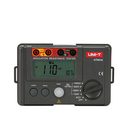 Freeshipping 100 V İzolasyon Direnci Test Cihazları Topraklama Megohmmetre Voltmetre w / LCD Arka Dijital Toprak Test Cihazları Megger nereden
