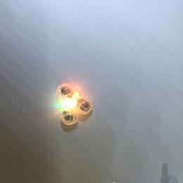 conectores de arame Desconto Luzes redondas pequenas redondas pequenas do balão do espaçador dos doces das luzes coloridas pequenas do balão 7 do diodo emissor de luz