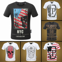 Wholesale Mens Printed T Shirts Sale - men fashion t shirts with crystal famous brand print mens tshirts big size cotton t-shirts man hot sale