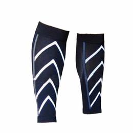 Wholesale Calf Shin Support - Wholesale- new 1Pair Calf Support Compression Leg Sleeve Sports Shin Splint Outdoor Brace Wrap