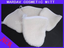 Wholesale Microfiber Face Cleaning Glove - Wholesale-2015 New Microfiber Makeup Remover Facial Wash Cleaning Mitt Face Cleaning Glove Free Shipping 50pcs lot