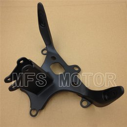 Wholesale R1 Stay - Motorcycle Head Cowling Front upper fairing stay brackets For Yamaha YZF-R1 1998-1999 98 99 R1