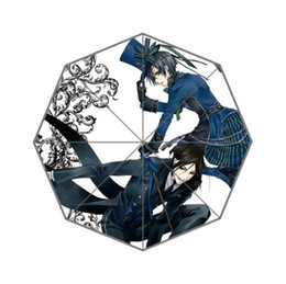 Wholesale Umbrellas Custom - Wholesale-Fashion Design Umbrella Custom Japanese Anime Umbrella For Man And Women Free Shipping Hot Sale UMN-410