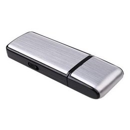 Wholesale Usb Spy Voice Recorder - 2 in 1 Mini Portable Digital Voice Recorder Spy Cameras 4GB 8GB 16GB USB Flash Drive Hidden Recording Camcorder