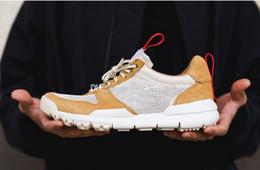 Wholesale Canvas Fabric Yard - 2018 new Tom Sachs x Craft Mars Yard TS NASA 2.0 Men's Running Shoes Fashion High Quality Craft Mars Yard 2.0 Sport Shoes
