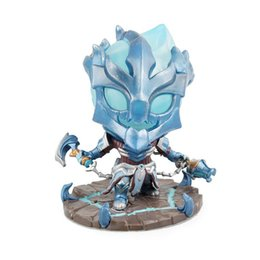 legend toys Coupons - 10cm league legends championship thresh the Chain Warden Action Figure Toy Model Western Animiation Cartoon Figma Action Figures