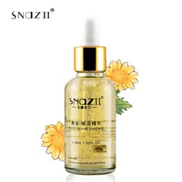 Wholesale Ginseng Skin - Wholesale-snazii gold revive essence firming cream gold ginseng cream whitening anti spot care for skin care moisturizing cream to face