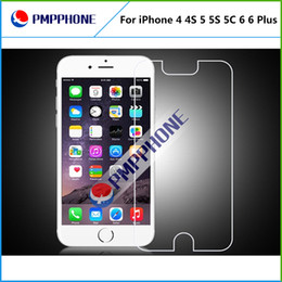 Wholesale S4 Note2 - For iphone 4 4S 5 5S 5C 6 6P Samsung S3 S4 S5 Note2 Note3 Note4 Premium Real Tempered Glass Film Screen Protector