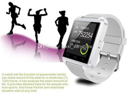 Wholesale Best Quality Wrist Watch - Smart phone U8 Smart Watch Newest U Watch 2 Best Quality Smartwatch with Phonebook Call MP3 Alarm 5S Samsung S5 NOTE 3 Andriod phone 5pcs