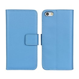 Wholesale Galaxy S2 Cover Card - GENUINE Wallet Credit Card Stand Leather Case cover for iphone 4 4s 5 5s SE 5C 6 6S 7 Galaxy S2 S3 S4 S5 S6 S6 EDGE S7 100pcs