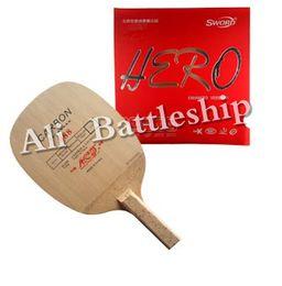 Atacado-Original Yinhe 988 Blade com espada de borracha de herói para Pro  Combo raquete de tênis de mesa 4d6ec2389bc2f