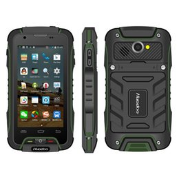Wholesale Gorilla Glass Screen - Original Huadoo V3 MTK6582 IP68 rugged android 4.4 Waterproof Phone 1GB RAM Gorilla Glass Smartphone 4500mah Big battery LMV9 killer