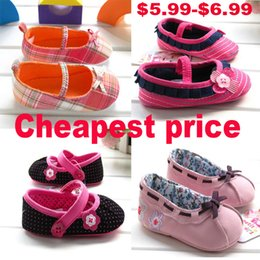 Wholesale Hot Pink Infant Shoes - Hot New Spring Baby Shoes infant first walker shoes baby toddle kids shoes soft bottom prewalker shoes Girls shoes Retail+Wholesale