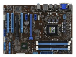 Wholesale 1155 Motherboard Asus - P8B75-V Motherboard ATX CPU i7 i5 i3 Intel B75 LGA 1155 Socket H2 DDR3 32GB