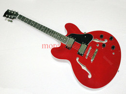 Wholesale Cheap Hollow Body Guitars - Red Musical instruments Newest Classic Jazz Guitar High Brand Cheap Free Shipping