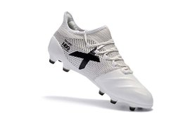 Wholesale football supplies - Supply 2018 Top Quality Football Boots Original X 17.1 leather FG Soccer Shoes ACE 17+ Purechaos Mens Outdoor FG Soccer Cleats