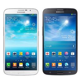 Wholesale Dhl Mobile - Refurbished Original Samsung Galaxy Mega 6.3 inch i9205 4G LTE Dual Core 1.5GB RAM 8GB ROM 8MP Camera Android Smart Mobile Phone DHL 1pcs