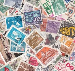 Wholesale Buy Paper Wholesale - Wholesale-[GTT] Used 100 PCS, Different Rand Postage Stamps ,Off Paper, Post Stamp From many Country , buy 2 Lots ,get 200 Different