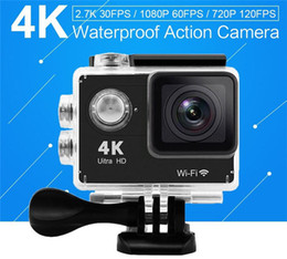 "Wholesale Hands Free Camera - Action camera HD 4K WiFi 2.0"" 170D underwater waterproof camera Sport 4K Wifi action cameras"