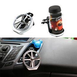 Wholesale Vehicle Fabric - Universal Car Truck Vehicle Air-Outlet Folding Drinks Holders Bottle Cup Holder Stand MD049 order<$18no tracking
