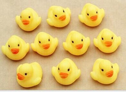 Wholesale Cheap Kids Items - Cheap wholeslea Baby Bath Water Toy toys Sounds Yellow Rubber Ducks Kids Bathe Children Swiming Beach Gifts