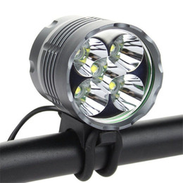 Wholesale Switch Mode - 5x XM-L T6 IP65 LED Headlamp Aluminum Waterproof 6000 Lumens Bicycie Light with 3 Switch Mode O Shaped Ring