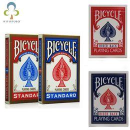 Wholesale Wholesale Trick Decks - Bicycle Poker 1 Pcbicycle Magic Regular Playing Cards Rider Back Standard Decks Magic Trick Free Shippingwyq