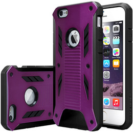 Wholesale Irons Cover - New Caseology Heavy Duty Armor Hybrid TPU+Hard Plastic Back Cover Case for iPhone 6 plus Rugged Armor for iphone6 6+ iron man case