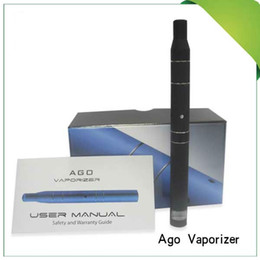Wholesale Ago G5 Lcd - hot sale Ago G5 dry Herb Vaporizer 5 Colors LCD Counts Portable Pen Style DRY Vaporizer DHL Free