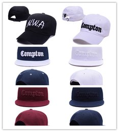 Wholesale Snapback Hats Compton - Top Fashion SSUR Snapback Cap Compton Black White Hats mens women classic Cheap fashion adjustable snapbacks caps,High quality street hat