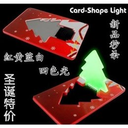 Wholesale Led Christmas Business Cards - Magnetic Levitation Fountain Gadget Wedding Souvenirs Ultra-thin Card Light Led Christmas Tree Business Lamp Logo Small Gift