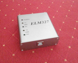 Wholesale Ford Can Bus - ELM327 USB Aluminum RS232 Com Metal OBD2 ELM 327 CAN-BUS Scanner OBD2 Code V1.4 V1.5A V2.1 Elm327 USB PIC18F25K80+CP2102