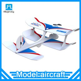 Wholesale Remote Toys Plane - New World's first Foam plane Aeromodelling toy remote control glider Small foam remote control aircraft Bluetooth control plane