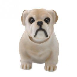 Wholesale shaking head dolls - Dog Doll Car Nodding Bulldog Shakes His Head Shaking Dog For Car Decoration Furnishing Articles brand new and high quality