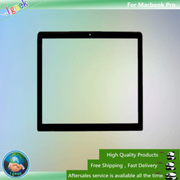 """Wholesale Lcd Screen Macbook 13 - 20PCS Front LCD Outer Glass Lens Screen Replacement for MacBook Pro 13"""" 2009 2010 2011 2012 free DHL"""