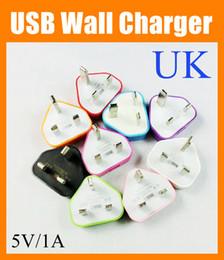 Adaptateur UK UK GB Plug 3 broches 3 broches Chargeur de voyage mural USB pour le NOUVEAU iPad 2 Air iphone 4 5 5S pour Samsung S4 Note 2 3 Adaptateur secteur CAB052 ? partir de fabricateur