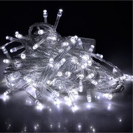 Wholesale Light Decoration For Home Prices - Lower price Outdoor LED String Lights 10M 110V 220V 9 colors for Christmas fairy holiday Strings lighting Home Party decorations