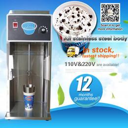 Wholesale Ice Blender Machine - Commercial soft serve ice cream blending machine sundae toppings maker ice cream blender