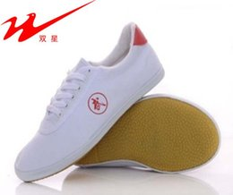 Wholesale Shoes For Fitness - Qingdao DoubleStar litzi Wushu sports shoes for men and women tendon end Tai Chi Fitness Shoes