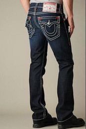 Wholesale Tr Jeans - TR Men's Distressed Ripped Skinny Jeans Fashion Designer Shorts Jeans Slim Motorcycle Biker Causal Mens Denim Pants Hip Hop Men Jeans A2888