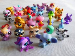 "Wholesale Lps Animals - Wholesale 2.4"" Littlest Pet Shop Toys LPS Animals Action Figures Toy Hasbro Toy Free shipping"
