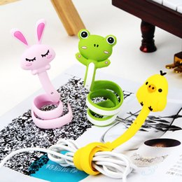 Cute Animals Series Strips Auriculares Cable Winder Alambres Cables desde fabricantes